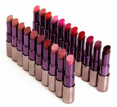Urban Decay Revolution Lipstick vs. Discontinued Lipstick Comparison Swatches & Dupes