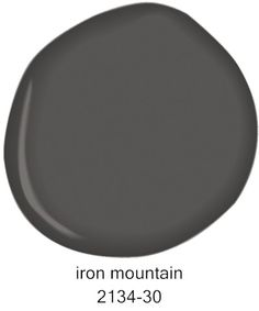 #BenjaminMoore Iron Mountain 2134-30