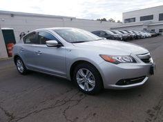 2013 grey silver gray Acura ILX 1.5 Hybrid w/ Tech Pkg - $23,900