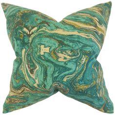 The Pillow Collection Ceylon Geometric Cotton Throw Pillow & Reviews | Wayfair