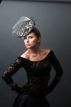 Hat by Lomax and Skinner, modelled by Magdalena Kaczmarek, photographed by www.100Designs.co.uk