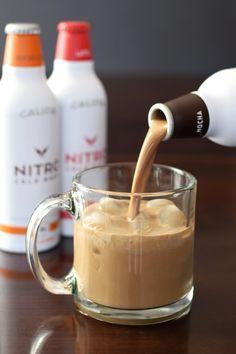 Califia Nitro Cold Brew Coffee Drinks with Almondmilk - creamy dairy-free lattes with a micro-foam experience (vegan, soy-free)