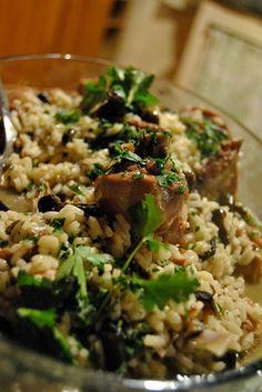 La Bariloca - La gallina in umido con riso e funghi : un piatto della Bassa Bresciana, ricco di sapori unici e autentici raccontato dalla signora Mariagrazia.