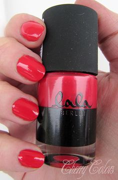 Gorgeous polish from Catrice LaLa Berlin in Ruby Red!