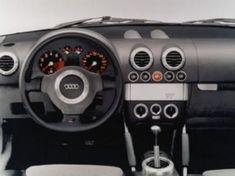 Audi TT MK1 (8N) - Prototype du Coupé Audi Tt Mk1, Roadster, Cutaway