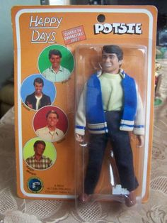 MEGO DOLL NEW     ONE OF THE FONZ RANGE     POTSIE   NEW ON CARD     NOT VINTAGE ..NEWER ONES     BUBBLE HAS LITTLE CRUSH     OVER ALL 8/10