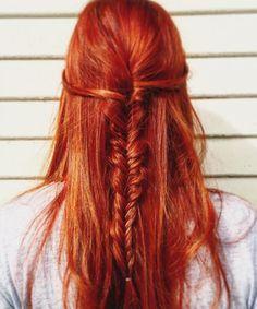 24 Splendid Fishtail Braided Long Hairstyles for Women