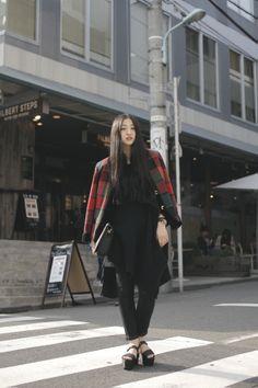 [Street Style] 岡本 彩 | Apparel | Shibuya (Tokyo)