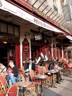 afternoon café, paris