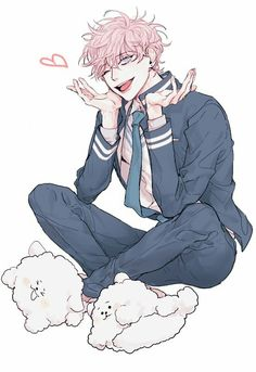 Credits to the artist. Character Inspiration, Character Art, Character Design, Cute Anime Boy, Hot Anime Guys, Anime Oc, Anime Manga, Cute Characters, Anime Characters