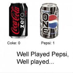 Pepsi wins!!