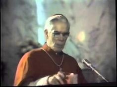 the meaning of mass fulton sheen Early Church Fathers, Fulton Sheen, World On Fire, Catechism, Inspirational Videos, Thank God, Confessions, Catholic, Meant To Be