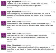 "The 42 Stages Of ""Welcome To Night Vale"" Addiction"