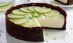 Receita de Torta de limão com chocolate - Torta doce - Dificuldade: Médio - Calorias: 285 por porção