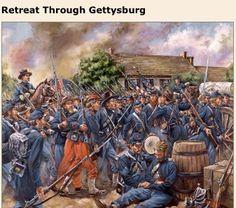 SOLDIERS- Maritato: ACW- Union: Retreat Through Gettysburg, by Mark Maritato.