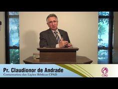 Gênesis, o Livro da Criação Divina - Pr. Claudionor de Andrade - EBDWeb