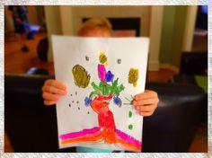 DIY Kid Artwork Storage Solutions