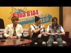 130311 B1A4 Speaks Bahasa Indonesia in Interview Session