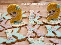 FROZEN ELSA COOKIE Elsa Frozen, Facebook Sign Up, Cookies, Disney Princess, Disney Characters, Crack Crackers, Biscuits, Cookie Recipes, Cakes