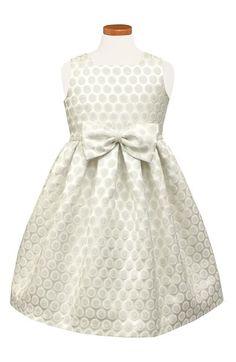 835bcb977 Sorbet Dot Metallic Brocade Dress (Little Girls) available at #Nordstrom  Floral Mesh Dress
