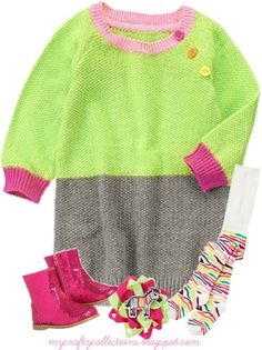 Toddler Girl's Outfit - Zany Zebra