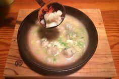 """「池田屋」 〆はチャンポン麺で! 名物""""炊き餃子""""。 Fukuoka, Pudding, Desserts, Food, Tailgate Desserts, Deserts, Eten, Puddings, Postres"""