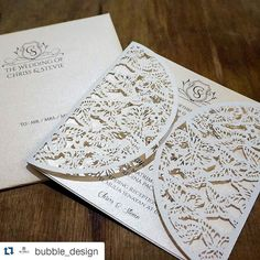 #Repost @bubble_design with @repostapp  Lasercut Invitation by #bubbledesign http://ift.tt/1ScIXVp  Catalog : #bubbleinvitation  Logo | Sticker | Event Wrap Paper | Website | Branding | Packaging | Invitation | Label | Paper Bag | Name Card| Other design services  Ph | wa : 089670778997 Line : bubbledesign  Email : bubble.design@yahoo.com.  #design #designlogo #desainlogo #lasercutinvitations #undangan #invitation #jasadesign #jasadesain #jualdesain #jualdesign #lasercutinvitation #lasercut…