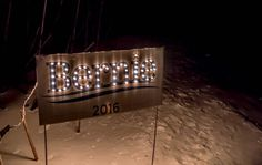 Plug-in, lighted Bernie Lawn Sign . Bernie Sanders for President 2016. Made by Ben and Jerry and Volunteers WITH WIRE STAND