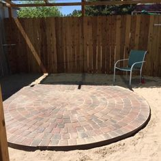 "Find out more info on ""patio pavers design"". Look into our web site. Fire Pit Backyard, Backyard Patio, Backyard Ideas, Garden Ideas, Nice Backyard, Large Backyard, Patio Ideas, Circular Patio, Flats"