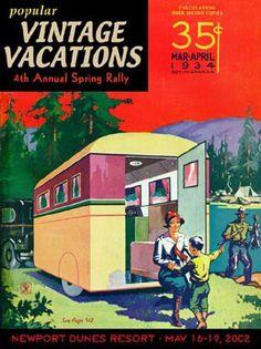Nancy's Vintage Trailers: Vintage Vacations