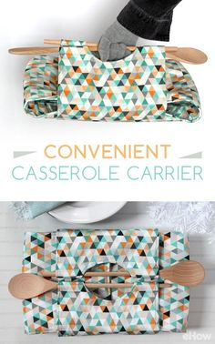 Never worry about transporting your casseroles to that party or potluck ever again! This DIY is a great project you'll be happy you did for years to come! http://www.ehow.com/how_12343746_make-totally-convenient-casserole-carrier.html?utm_source=pinterest.com&utm_medium=referral&utm_content=freestyle&utm_campaign=fanpage