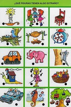 El profe y su clase de PT: Láminas para trabajar nociones Speech Language Therapy, Speech And Language, Speech Therapy, Thinking Skills, Teaching Materials, Worksheets For Kids, Spanish Language, Anchor Charts, How To Plan