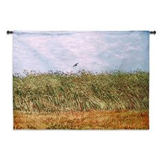 Fine Art Tapestries Wheat Field with a Lark Wall Tapestry - 6108-WH