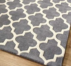 Arabesque Grey Rugs | Modern Rugs
