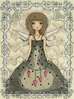 Butterfly cross stitch kit by Bothy Threads