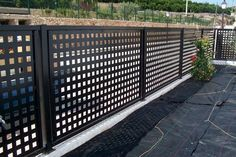 Driveway Gate, Fence Gate, Fencing, Modern Fence Design, Sliding Gate, Automatic Gate, Gate Design, Home Deco, Mid-century Modern