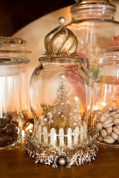 Vintage Glitter Cloche by Julia Monroe, via Flickr