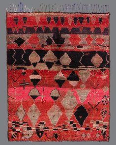 Rehamna . RH04 . Vintage Moroccan Carpets + Wares // Breuckelen Berber