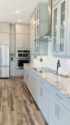 Florida Kitchen Design with wood floors, granite countertops, and custom cabinet design ideas What is Decoration? Decoration could … Diy Kitchen Remodel, Diy Kitchen Cabinets, Kitchen Cabinet Design, Modern Kitchen Design, Home Decor Kitchen, Interior Design Kitchen, Dark Cabinets, Kitchen Remodeling, Kitchen Counters