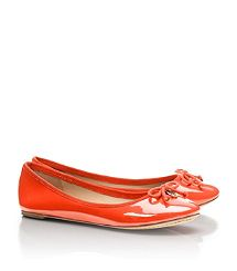 chelsea ballet flat - patent leather - tory burch