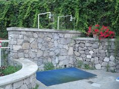 Hotel Metropole - Sorrento - swimming pool - showers | Flickr - Photo Sharing!