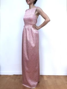 Open back evening dress - Bridesmaid dress di Fedracollection su Etsy