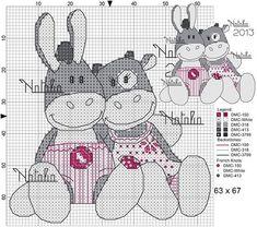 Esel und Kuh gefunden bei Natalia2013