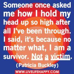 .I am a survivor