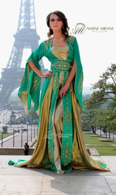 Amine Mrani - guess I'm off to Paris to try on her clothes - LOL! Looks like a local seamstress may be in my future.