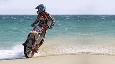 beach dirtbike