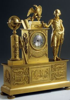 Jacques Nicolas Pierre Francois Dubuc (Clockmaker)   Paris  Date: 1815-1819  Materials: Brass; Iron; Glass; Ormolu