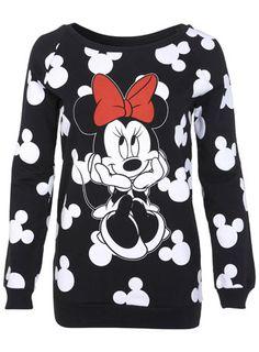 Minnie Mouse Sweat - Miss Selfridge