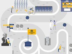 Universiteit Gent is een vooruitstrevende universiteit met tal van  innovatieve onderzoeken. Zo ontwikkelde de universiteit zorgrobot ZORA die  patiënten van UZ Gent interactieve zorgondersteuning biedt, geniet  bio-ingenieur Chris Callewaert internationale bekendheid als 'Doctor  Armpit' met zijn onderzoek naar bacteriën in oksels en werken onderzoekers  samen met een lokale bierbrouwerij om uit afvalwater bier te brouwen. Met  een infographic flyer die kan worden uitgevouwen tot een…