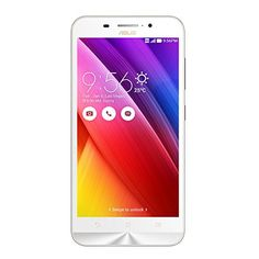 Asus Zenfone Max ZC550KL (White, 2GB, 16GB)   All Mobile Phones, Android Mobiles  13MP primary camera with auto focus, Dual Tone LED flash and 5MP front facing camera